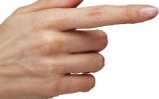 Болит сустав на указательном пальце
