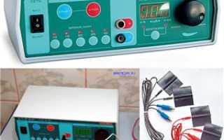 Как дома делать электрофорез
