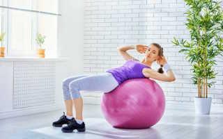 Шар для фитнеса упражнения