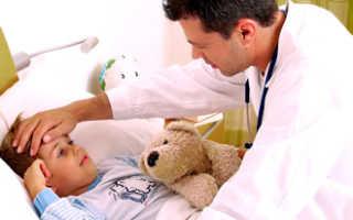 Как долго может держаться температура у ребенка при ларингите