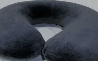 Подушка в самолет ортопедическая