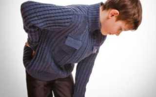Причины боли в пояснице у подростка