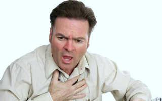 Боль в сердце на выдохе