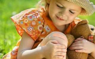 У ребенка 5 лет болит колено