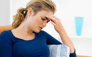 Головная боль с головокружением причины