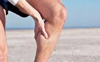 Боль в икре левой ноги чем лечить