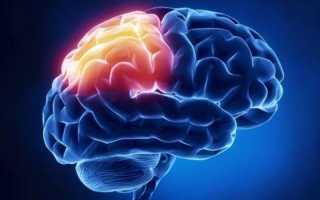Единичные очаговые изменения вещества головного мозга