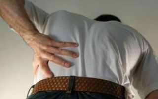 Боль в левой части спины
