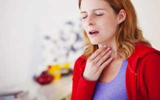 Щекотание в горле вызывает кашель — причины, чем лечить, лекарства и народные средства