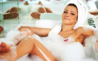 Горячие ванны при остеохондрозе