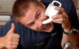Чем промывать нос при гайморите в домашних условиях лучше