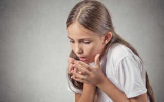 Боль в горле сухой лающий кашель у ребенка