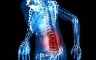 Упражнение для спины и позвоночника