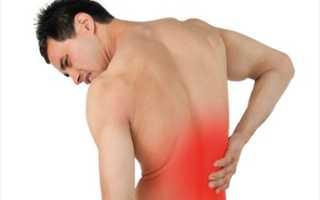 При кашле боль в спине