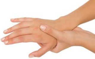 Онемел палец на руке