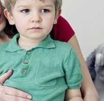 У ребенка боль в правом боку