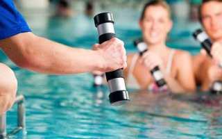 Лечение остеохондроза в бассейне