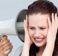 Шум в затылочной части головы причины
