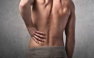 Боль в низу спины у мужчин