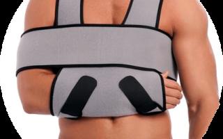 Ортез при вывихе плеча