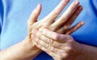 Покалывание пальцев рук