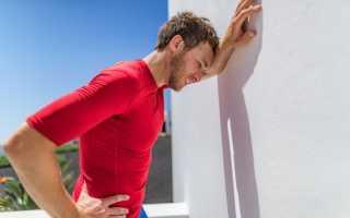 После силовых тренировок болит голова