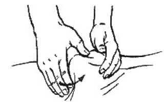 Накатывание массаж видео
