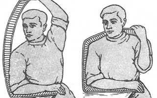 Наложение шины при переломе плечевой кости