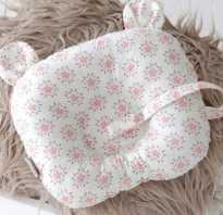 Ортопедическая подушка для грудничков показания