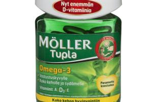 Omega 3 moller tupla
