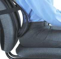 Ортопедические накладки на стул школьника
