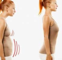 Упражнения от кифоза